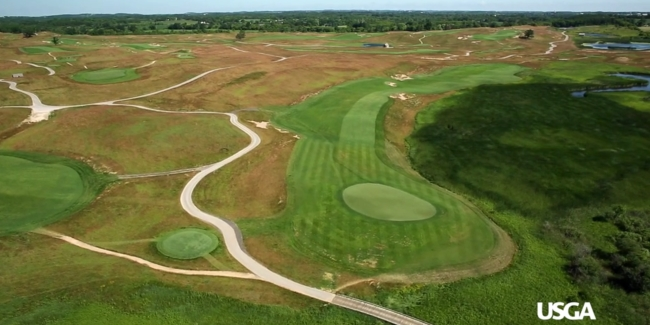 Erin Hills Setting Up As A US Open Unlike Any Other By Matt Tevsh - Us open erin hills map