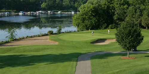Majestic Oaks Golf Course at Lake Lawn Resort Wisconsin golf packages