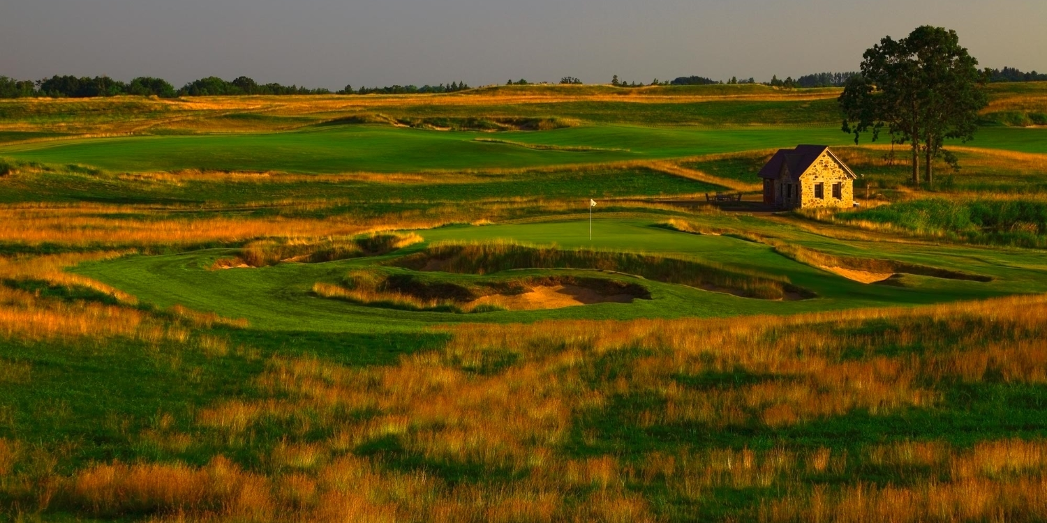 Erin Hills Golf in Erin Wisconsin