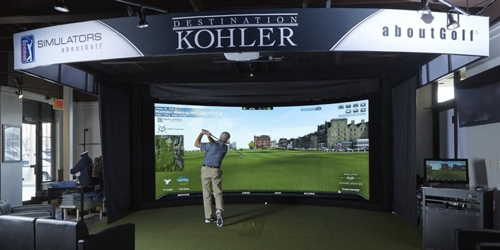 Kohler Swing Studio and Golf Shop Topgolf Swing Suite