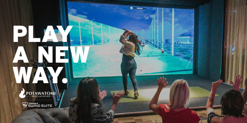Potawatomi Hotel & Casino Topgolf Swing Suite