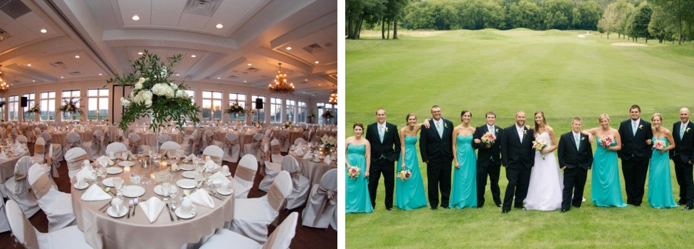 Wisconsin Golf Course Weddings Wisconsin Golf Wedding Receptions